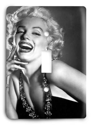 Marilyn Monroe v2 Light Switch Cover - Colorful Switches