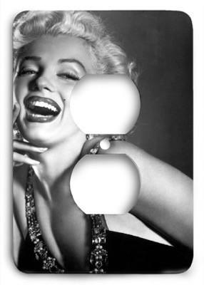 Marilyn Monroe v2 Outlet Cover - Colorful Switches