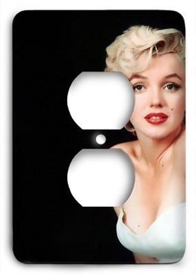 Marilyn Monroe v3 Outlet Cover - Colorful Switches