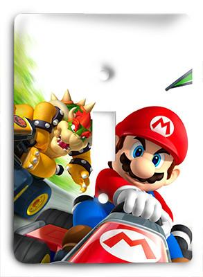Mario Kart Lets Go Light Switch - Colorful Switches