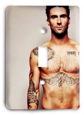 Maroon 5 - Hands All Over Light Switch Cover - Colorful Switches