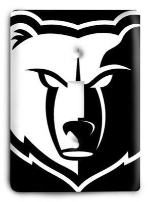 Memphis Grizzlies NBA 03v Light Switch Cover - Colorful Switches