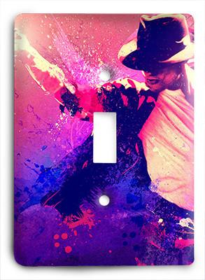 Michael Jackson King of Pop Light Switch - Colorful Switches