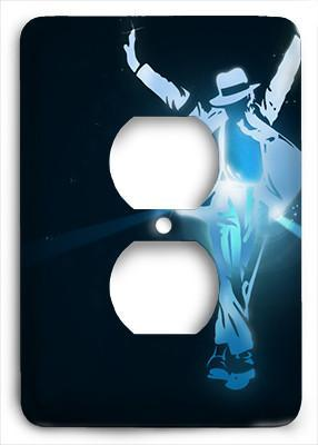 Michael Jackson The Star Outlet Cover - Colorful Switches