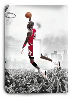 Michael Jordan Above All Others Light Switch - Colorful Switches