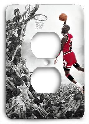 Michael Jordan Above All Others Outlet Cover - Colorful Switches