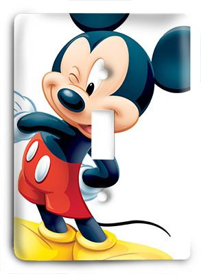 Mickey-Mouse-29 Light Switch - Colorful Switches