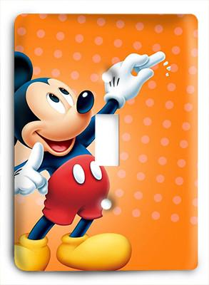 Mickey Mouse Pluto G5 Light Switch - Colorful Switches