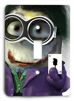 Minion Joker Light Switch - Colorful Switches