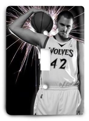 Minnesota Timberwolves NBA 2v Light Switch Cover - Colorful Switches