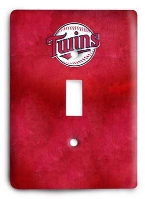 Minnesota Twins 03 Light Switch Cover - Colorful Switches