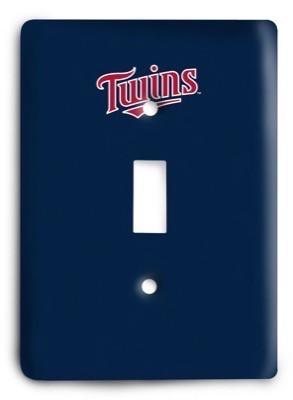 Minnesota Twins 14 Light Switch Cover - Colorful Switches