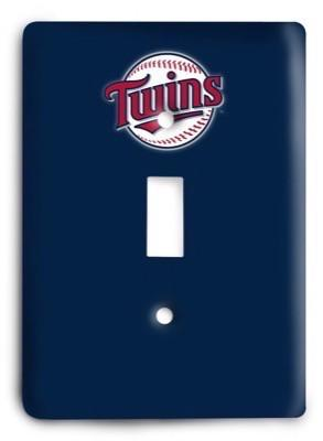Minnesota Twins 15 Light Switch Cover - Colorful Switches