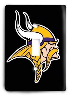 Minnesota Vikings 11 Light Switch Cover - Colorful Switches