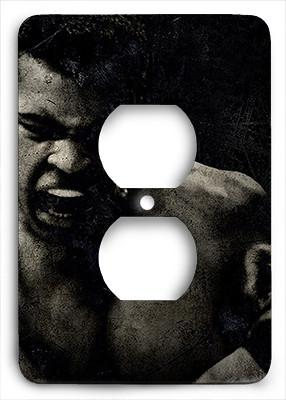 Muhammad Ali The Greatest Outlet Cover - Colorful Switches