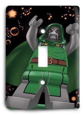 New Avenger lego Light Switch Cover - Colorful Switches