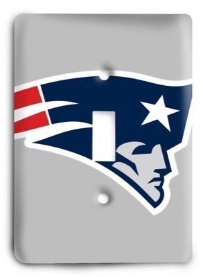 New England Patriots 13 Light Switch Cover - Colorful Switches