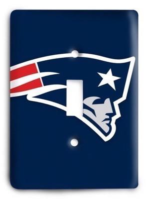 New England Patriots 20 Light Switch Cover - Colorful Switches