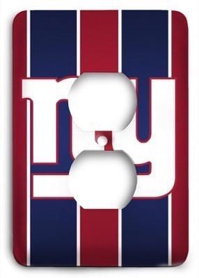 New York Giants 16 Outlet Cover - Colorful Switches