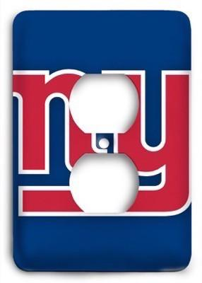 New York Giants 17 Outlet Cover - Colorful Switches