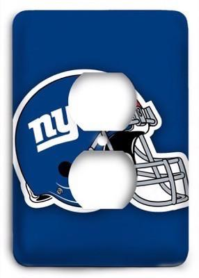 New York Giants 19 Outlet Cover - Colorful Switches