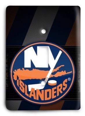 New York Islanders NHL 1 Light Switch Cover - Colorful Switches