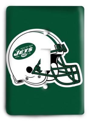 New York Jets NFL 14 Light Switch Cover - Colorful Switches