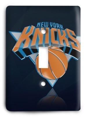 New York Knicks NBA 56v Light Switch Cover - Colorful Switches