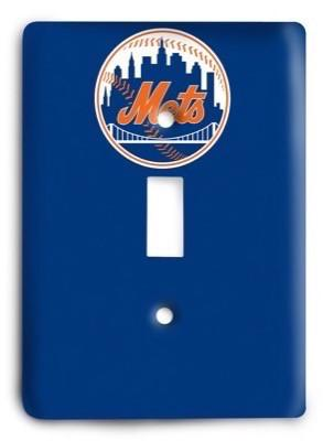 New York Mets MLB 10 Light Switch Cover - Colorful Switches
