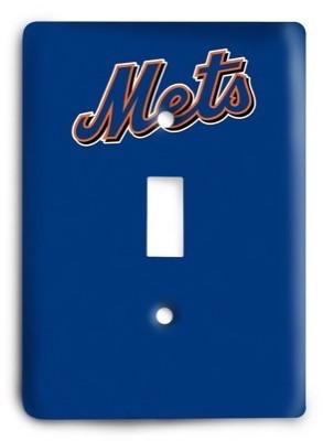 New York Mets MLB 11 Light Switch Cover - Colorful Switches