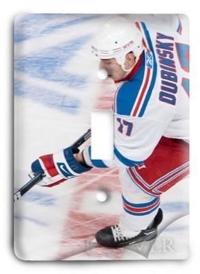 New York Rangers NHL 1 Light Switch Cover - Colorful Switches