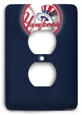 New York Yankees 14 Outlet Cover - Colorful Switches