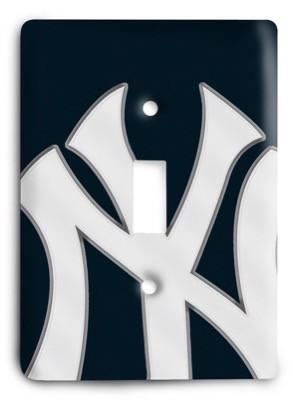 New York Yankees 18 Light Switch Cover - Colorful Switches
