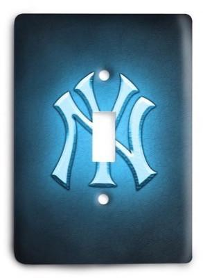 New York Yankees 19 Light Switch Cover - Colorful Switches