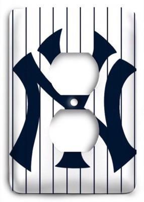 New York Yankees 20 Outlet Cover - Colorful Switches