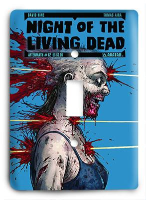 Night Of The Living Dead My Little Walker Light Switch - Colorful Switches