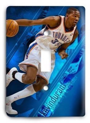 Oklahoma City Thunder NBA 13 Light Switch Cover - Colorful Switches