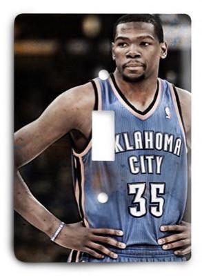Oklahoma City Thunder NBA 16v Light Switch Cover - Colorful Switches
