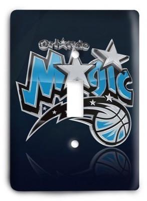 Orlando Magic NBA 02v Light Switch Cover - Colorful Switches
