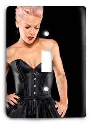 P!nk v2 - 1 Light Switch Cover - Colorful Switches