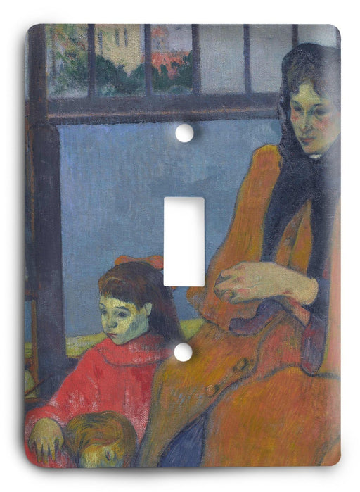 Paul Gauguin Schuffenecker's Studio Light Switch Cover - Colorful Switches