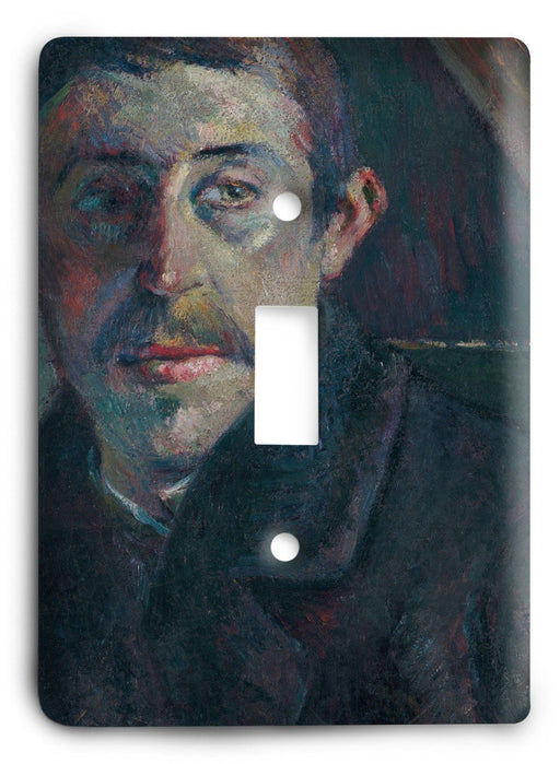 Paul Gauguin Self Portrait 1885 Light Switch Cover - Colorful Switches