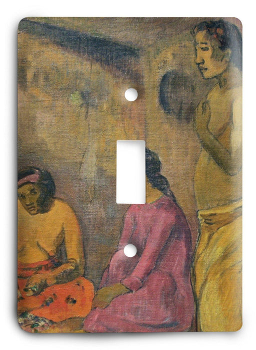 Paul Gauguin Sister Of Charity 1902 Light Switch Cover - Colorful Switches