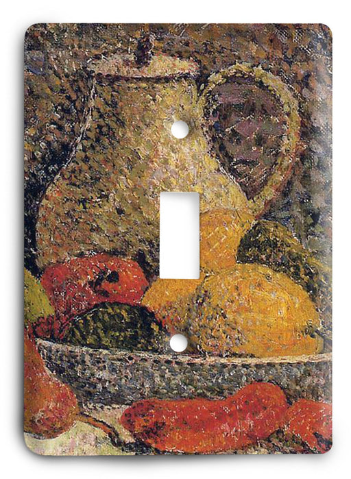 Paul Gauguin Still Life - Ripipont 1889 Light Switch Cover - Colorful Switches