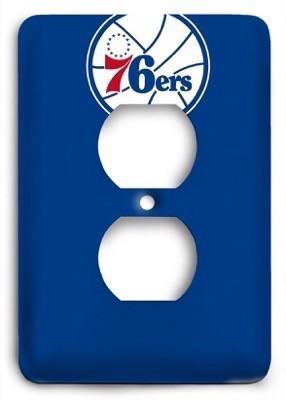 Philadelphia 76ers NBA 12 Outlet Cover - Colorful Switches