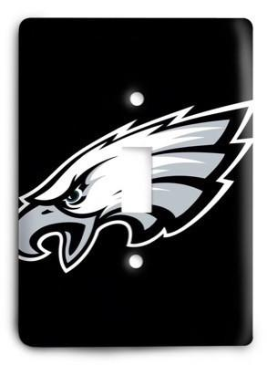 Philadelphia Eagles NFL 21 Light Switch Cover - Colorful Switches