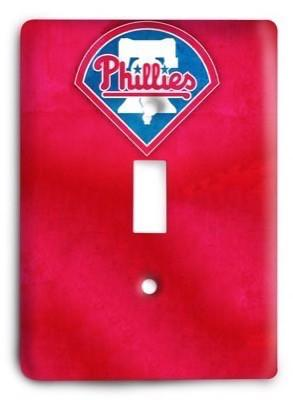 Philadelphia Phillies MLB 05 Light Switch Cover - Colorful Switches