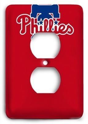 Philadelphia Phillies MLB 16 Outlet Cover - Colorful Switches