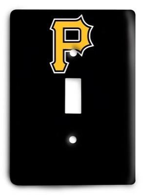 Pittsburgh Pirates 4 Light Switch Cover - Colorful Switches