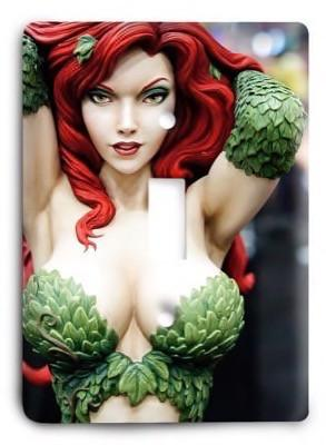 Poison Ivy v2 Light Switch Cover - Colorful Switches